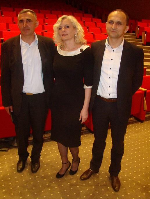 Organizatori projekcije filma u Osijeku15.4.16.Vikarijat